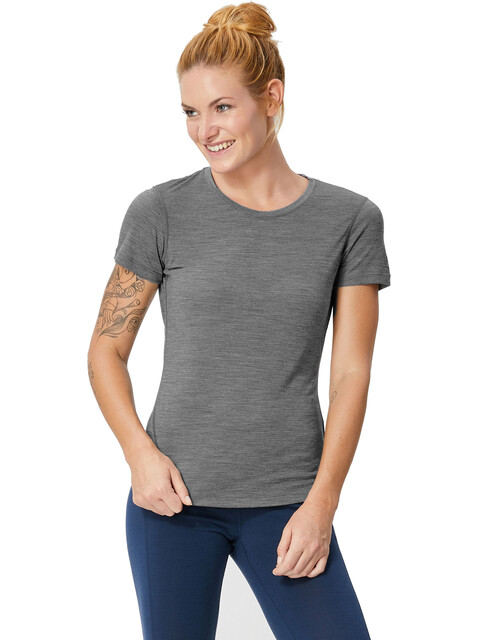 super.natural Base Tee 175 Women Quiet Shade Melange